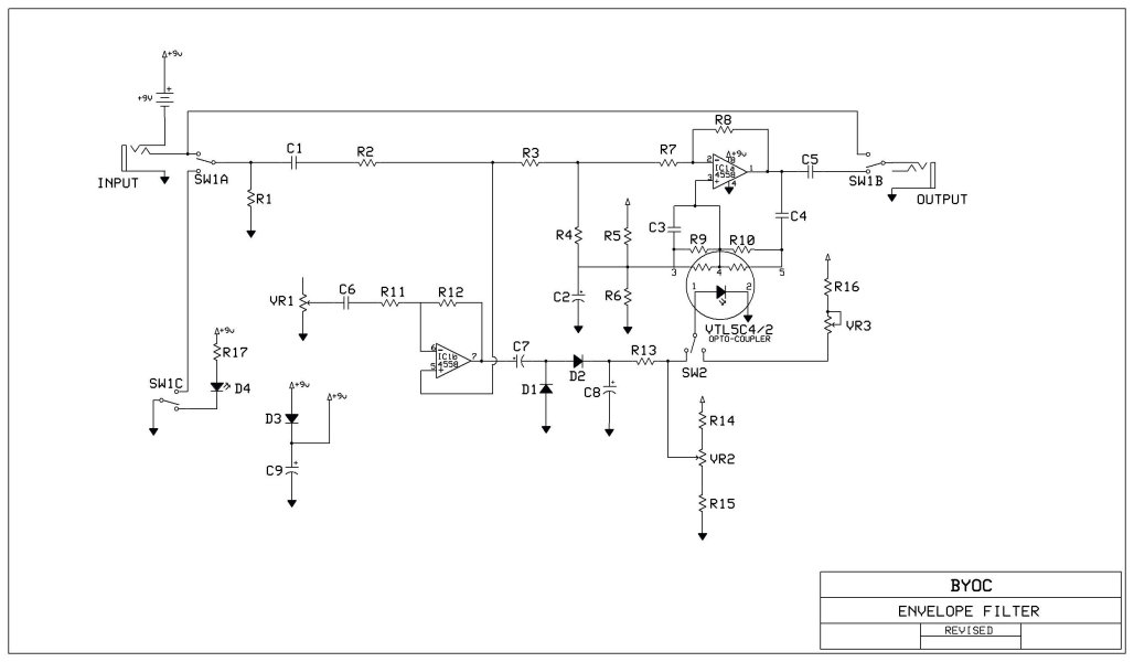 file Envelope Filter Schematic on reverb schematic, eq schematic, mutron 3 schematic, preamp schematic, generator schematic, wah schematic, pitch shifter schematic, phaser schematic, limiter schematic, mixer schematic, vibrato schematic, ring modulator schematic, distortion schematic, compressor schematic, expression pedal schematic, chorus schematic, univibe schematic, buffer schematic, q-tron schematic,